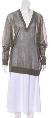 Dries Van Noten Long Sleeve Knit Sweater