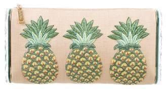 Edie Parker Lara Pineapple Clutch