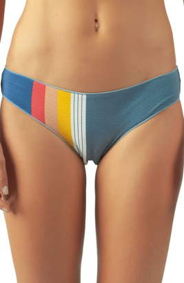 Rip Curl Beach Street Stripe Hipster Bikini Bottoms