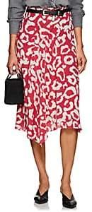 Isabel Marant Women's Cacia Silk Asymmetric Midi-Skirt - Pink