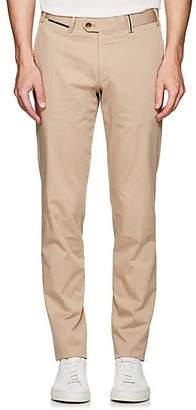 Hiltl Men's Stretch-Cotton Slim Trousers - Beige/Tan Size 36