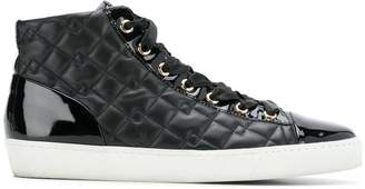 Högl quilted hi-top sneakers