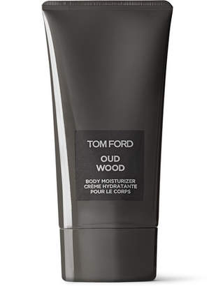 Tom Ford Oud Wood Body Moisturizer, 150ml - Men - Black