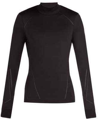BLACKBARRETT by NEIL BARRETT Long Sleeved Jersey T Shirt - Mens - Black