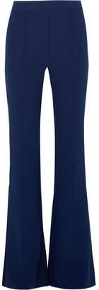 Ellery Orlando Crepe Flared Pants - Navy