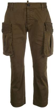 DSQUARED2 cropped cargo trousers