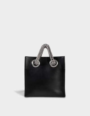 Alexander Wang Genesis Shopper Bag in Black Calfskin