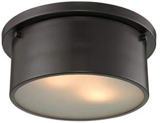 ELK Lighting Simpson 2-Light Flushmount