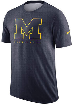 Nike Men's Michigan Wolverines Marled Legend Player T-Shirt