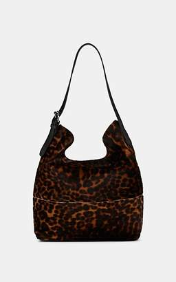 Barneys New York Women's Calf Hair Hobo Bag - Lt. brown