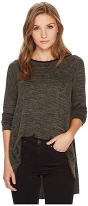 Kensie Drapey Space Dye Top KS0K3616 Women's Clothing