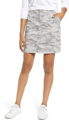 Wit & Wisdom Camo Print Skirt