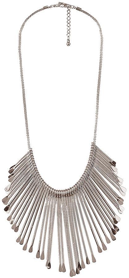 Paddle Trim Necklace