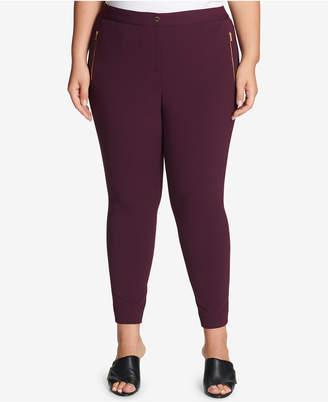 Calvin Klein Plus Size Skinny Crepe Pants