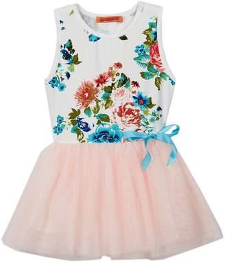 Funkyberry Floral TuTu Dress (Baby & Toddler Girls)