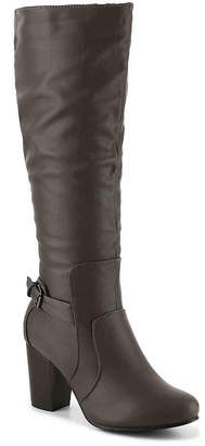 Journee Collection Carver Wide Calf Boot - Women's