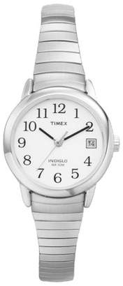 Timex Women's Timex Easy Reader® Expansion Band Watch - Silver T2H371JT $35.99 thestylecure.com