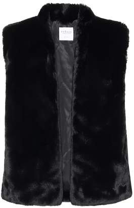 Velvet Chelle faux fur vest