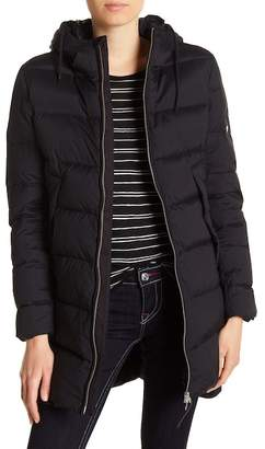True Religion Quilted Down Coat