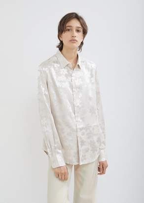 Eckhaus Latta Floral Button Down Shirt