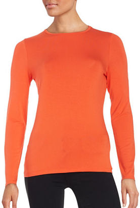 Lord & Taylor Crewneck Tee $40 thestylecure.com