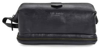 Ted Baker Chocks Leather Dopp Kit