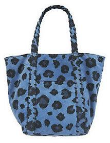 As Is Kelsi Dagger Ryan Leopard Print Double Strap Shoulder bag $71 thestylecure.com