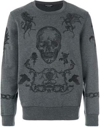 Alexander McQueen coat of arms sweatshirt