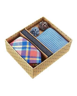 Original Penguin Five-Piece Sock & Tie Box Set, Multi/Plaid $45 thestylecure.com