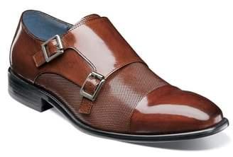 Stacy Adams Jennings Cap Toe Double Strap Monk Shoe