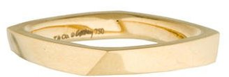 Tiffany & Co. 18K Frank Gehry Torque Ring $535 thestylecure.com