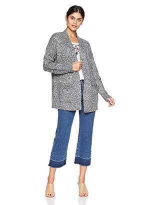 Lucky Brand Women's Venice Marl Cardigan Sweater