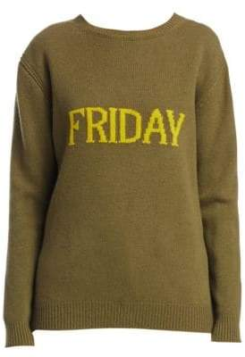 Alberta Ferretti Rainbow Week Capsule Days Of The Week Friday Sweater