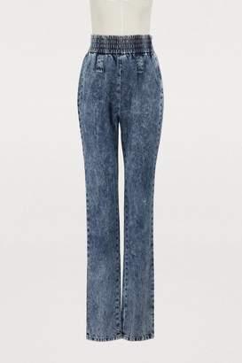 Miu Miu Marble washed jeans