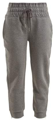 adidas by Stella McCartney Essential Cropped Performance Track Pants - Womens - Grey
