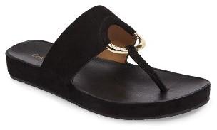 Women's Calvin Klein Ringed Flip Flop $89.95 thestylecure.com