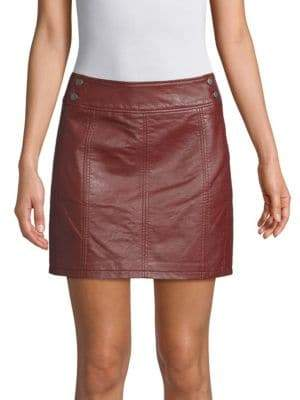 Free People Retro Mini Skirt