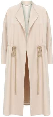 Roksanda Drawstring Duster Coat