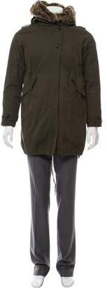 Woolrich Faux Fur-Trimmed Hooded Parka