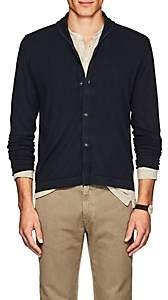 Massimo Alba Men's Cashmere Shawl Collar Cardigan-Navy