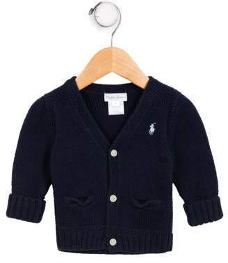Ralph Lauren Boys' Knit Logo Cardigan