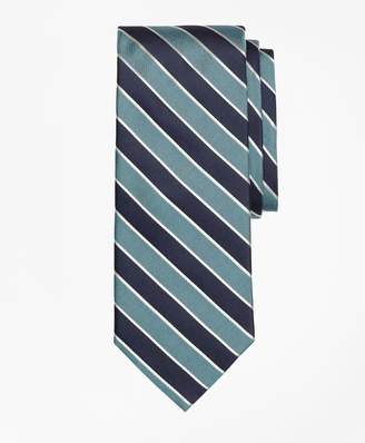 Brooks Brothers Framed Alternating Stripe Tie
