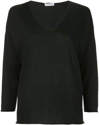 Cruciani fine-knit sweater
