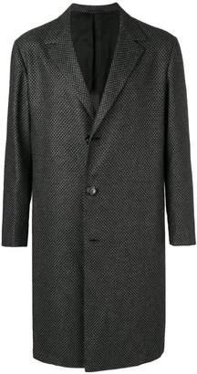 Kiton classic buttoned coat