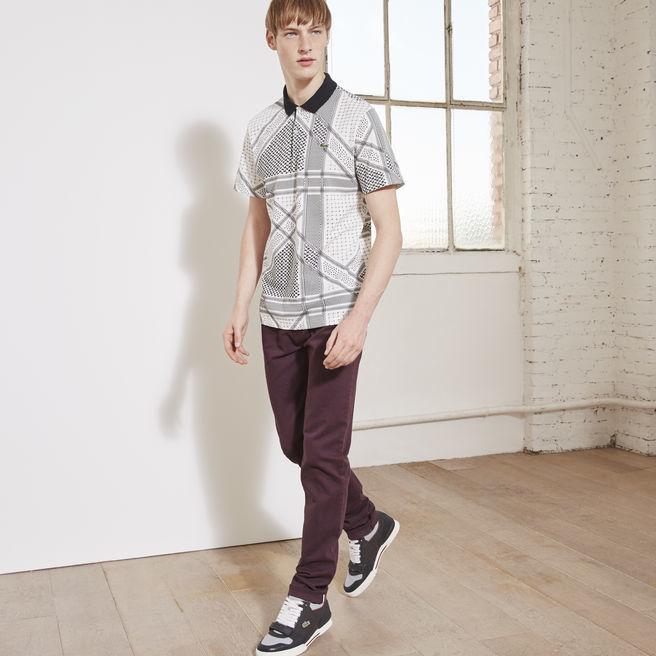 LacosteL!ve Cotton Twill Slim Fit 5 Pocket Pant