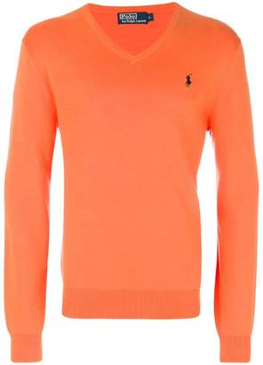 Polo Ralph Lauren slim-fit v-neck sweater