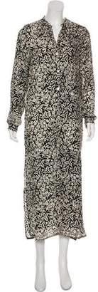 Natalie Martin Floral Print Maxi Dress