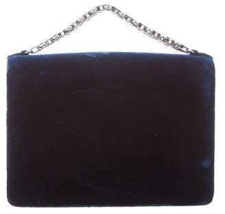 Chanel Velvet Bijoux Chain Evening Clutch