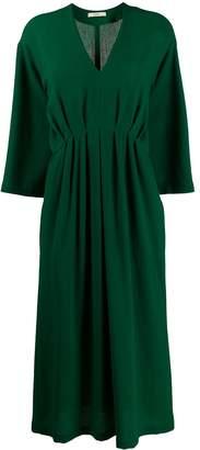 Odeeh v-neck loose-fit dress