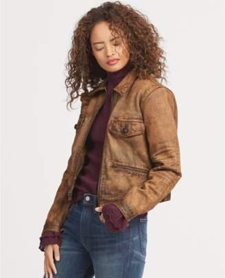 Polo Ralph Lauren Sheepskin Zip Jacket